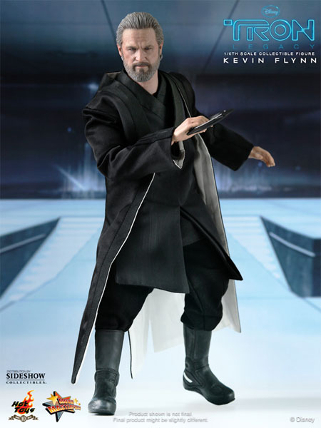 Kevin Flynn in black