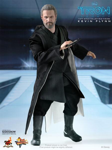 Kevin Flynn in black