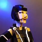 Tron Legacy LEGO Quorra Closeup