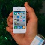 White iPhone Ornament 2
