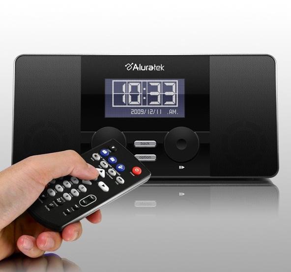 aluratek internet radioalarm clock gadget