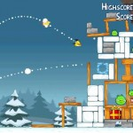 angry birds christmas iphone application
