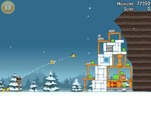 angry birds seasons christmas