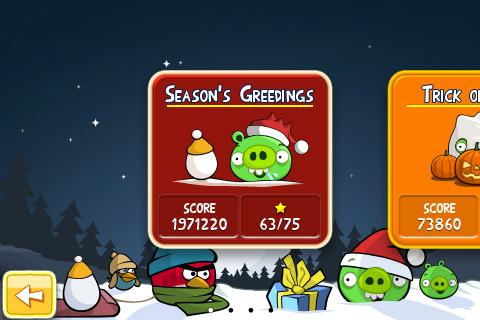 angry birds seasons iphone application