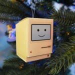 apple mac christmas ornament