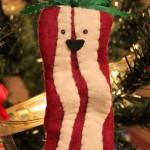 bacon ornament 1