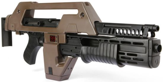 best gadgets of 2010 aliens pulse rifle pistol