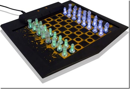 best gadgets of 2010 led chess set