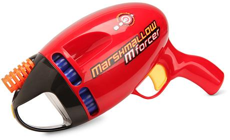 best gadgets of 2010 marshmallow mforcer pistol