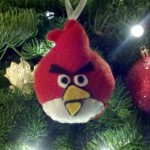 christmas ornaments angry birds red