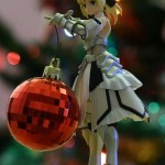 christmas ornaments anime bishojo