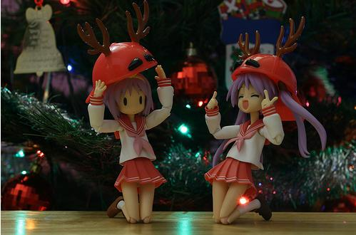 christmas ornaments anime lucky star