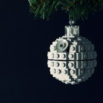 christmas ornaments death star lego ball