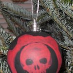 christmas ornaments gears of war ball