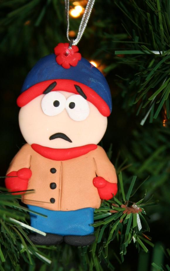 christmas ornaments south park handmade ornaments