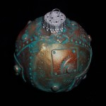 christmas ornaments steampunk art christmas ball