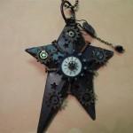 christmas ornaments steampunk art christmas star