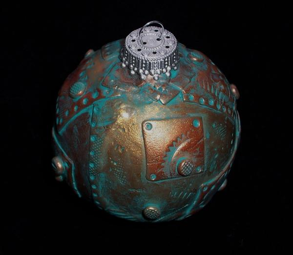 christmas ornaments steampunk ball