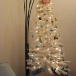christmas tree barbie doll head