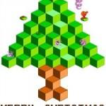 christmas tree qbert