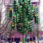 christmas tree stop light