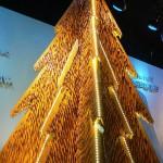christmas tree wood pencils