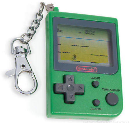 cool gadgets of 2010 Mini Nintendo Game Boy Keychain 1