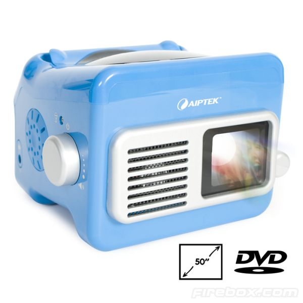 cool gadgets of 2010 Portable DVD Projector 1