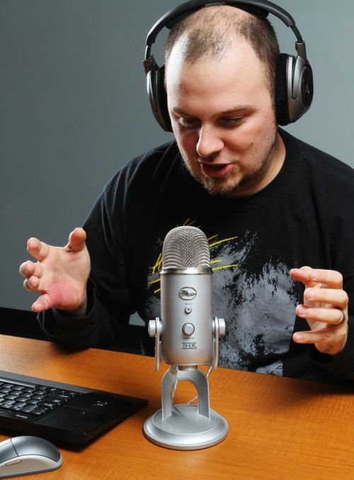Yeti THX Usb Microphone In Use