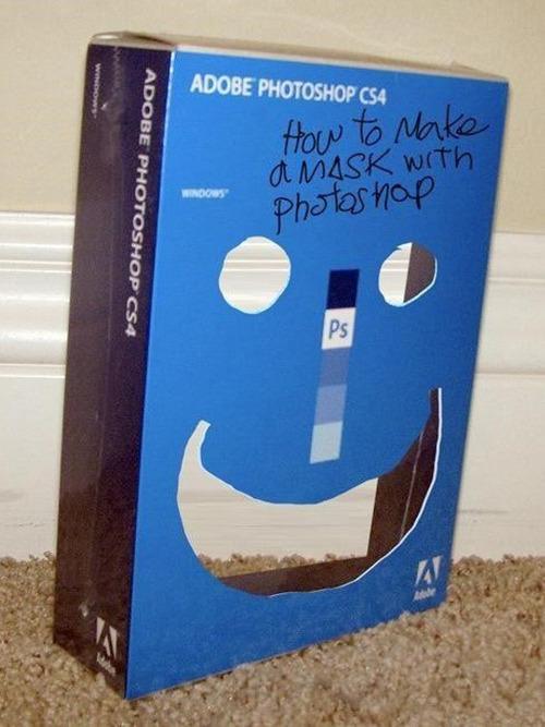 funny photoshop mask