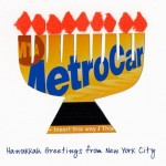 hanukkah menorah new york metro card