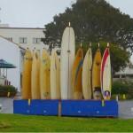 hanukkah menorah surfboard
