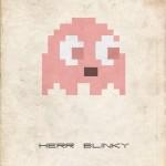 herr blinky pac man ghost 8bit fuzz