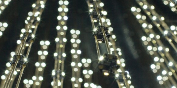 iPhone Controlled LED Chandelier 1