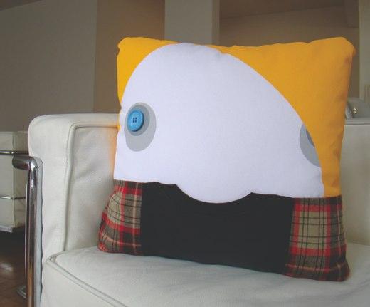 kurt cobain pillow design