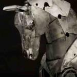 mechanical steampunk horse