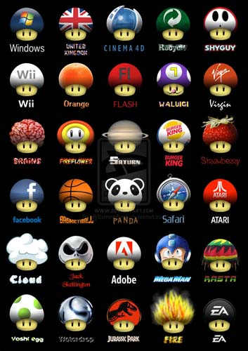 super mushrooms