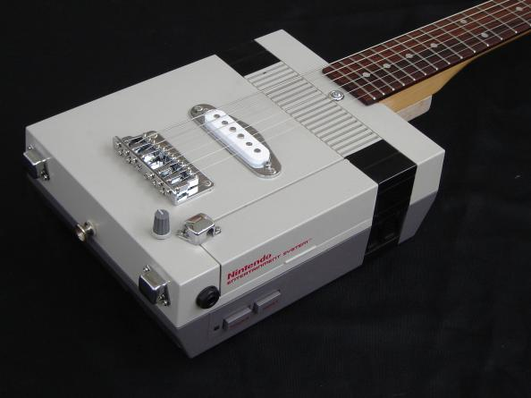 nes guitar mod design video