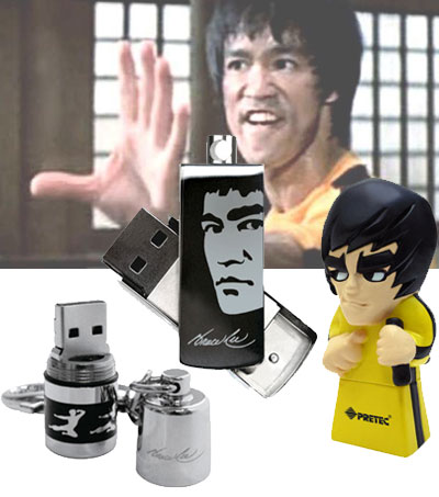 Pretec Bruce Lee USB Flash Drives
