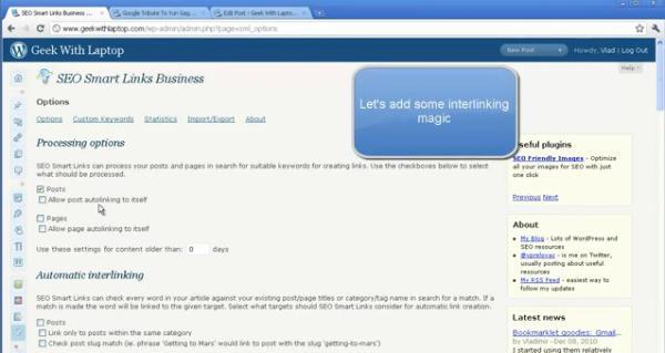 seo smart links premium wordpress plugin