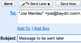 Boomerang Gmail Screenshot 1