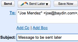 Boomerang Gmail Screenshot 1
