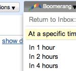 Boomerang Gmail Screenshot 2