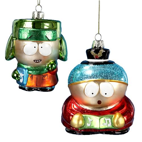 south park christmas ornaments 1
