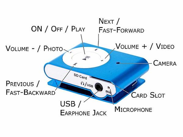 spy gadgets of 2010 ipod shuffle spy cam