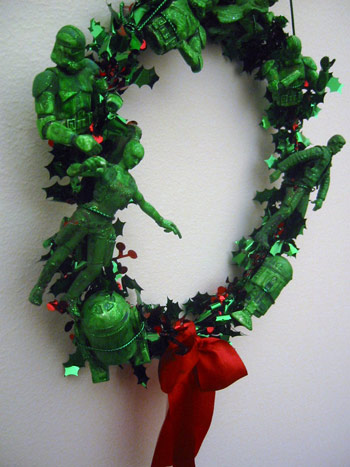 star wars characters christmas wreath design