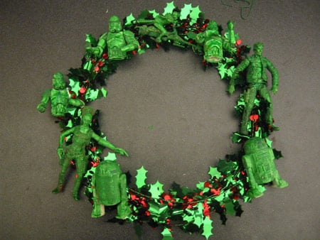 star wars characters christmas wreath