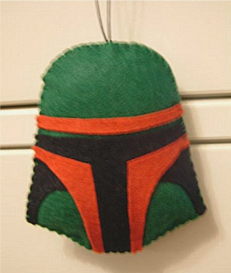 star wars christmas ornaments boba fett craft