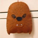 star wars christmas ornaments chewbacca craft