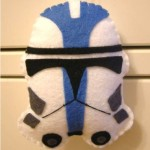 star wars christmas ornaments clone trooper craft